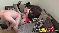 FakeAgentUK Brit girl gets spanked, fingered and fucked on casting couch Vorschaubild
