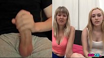 Mom and her Daughter Watching Me Jerk Off on cam - 69VClub.Com