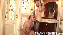 My first time with a tranny was incredible
