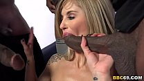 Chloe Chaos Gangbanged By Black Cocks thumbnail