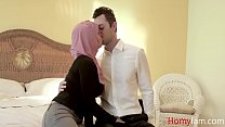 Arab Daughter in Hijab fucks her FATHER- Ella knox - download porn videos