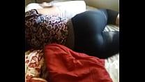 Phat Ass in Black Leggings