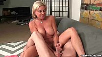 Horny milf gets splattered with hot cum ◦ hot aunties nude thumbnail