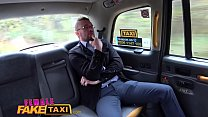 Female Fake Taxi Hot busty blonde sucks and fucks her businessman fare thumbnail