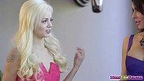 Jessica Jaymes teaches Elsa Jeans boyfriend to lick pornhub video