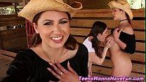 Amateur lesbian fingering