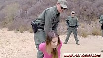 Fake cop british threesome first time Anal for ...
