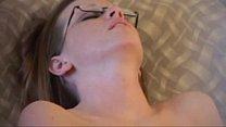 Teen With Glasses Caught Masturbating