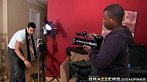 Brazzers - Mommy Got Boobs -  Film Score scene starring Kayla Paige and Rocco Reed preview image