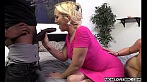 10710 A huge big black cock for stepmom Alana Evans and Miss Dallas preview