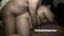 20 yr BBW loves getting gangbanged by BBC redzi...