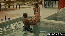 BLACKED First Interracial For Naughty Sister Ally Tate preview image
