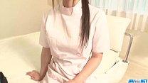 Shizuku Asian nurse receives a strong pounding thumbnail