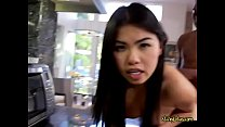 Asian Chick Cindy Starfall Gets Her Pussy Demol...
