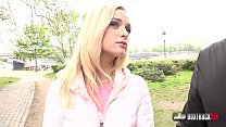 Playful blonde Crystal Caytlin likes sex in public Thumbnail