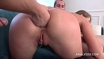 My First DP, Milady gets 2 dicks with Balls Deep Anal, DP, Gapes and Swallow GL290