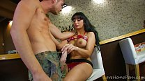 Hot-Blooded Latina Makes Dirty Dreams Come True's Thumb