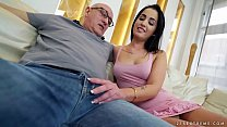 Old guy fucks a the younger Loren Minardi preview image