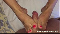 POV: Footjob, Blowjob and Sex at 2.AM صورة