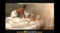 ORGASMS Two cumshots for sexy blonde preview image