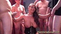 busty german milf gets wild gangbanged - srimukhi nude thumbnail