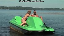Titted blonde fucked hard in a boat Vorschaubild