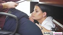 Babes - Office Obsession - Blowing My Cover  starring  Kristof Cale and Annie Wolf clip thumbnail