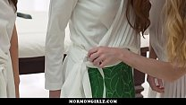 MormonGirlz-  Two Girls Open Up Redheads Pussy