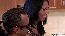 12427 Husband friend bangs his hot brunette wife preview