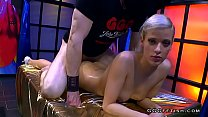 Hot and dirty czech beauty shows cums and swallows