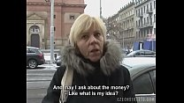 Czech Milf Gives a Head for a Horny Cock pornhub video