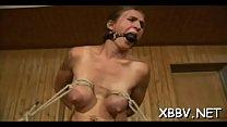 Superb scenes of breast thraldom with needy woman in heats