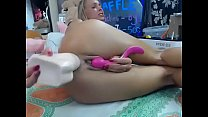 www.girls4cock.com — The best anal show ever with Siswet19 hot young blonde
