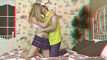 Frisky lovers in action Amber Daikiri thumb