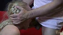 Petite blonde cheating shows her blowjob and de... thumb