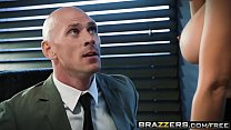Brazzers - Big Tits at Work - Spilling The Boobs scene starring Isis Love and Johnny Sins's Thumb