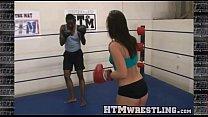 Boxing Sinn Sage Combat Fetish - Big Booty Whit...'s Thumb