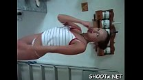 Non-professional video with erotic couple getting sweaty in daybed Preview
