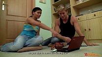 18Videoz - Jock Makes His Gf Kari A Whore