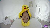 Hot pokemon babe Nicole Love solo VR porn movie