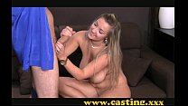 Casting - Hot chubby girl strokes a thick one Vorschaubild