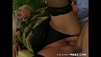 14148 Grandpa pounds chubby granny pussy preview