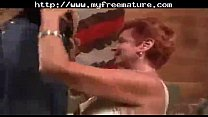 Redhead Mature Mommy Sucks and Fucks Black Cock