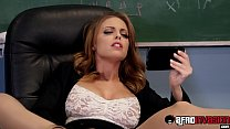 Smoking hot Britney Amber spitroasted by BBC st... thumb