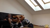 HUNT4K. Poor cuckold forced to see GF's nasty s...