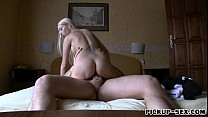 Sexy Czech girl Mina pounded in apartment for some cash preview image