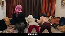 12226 BFFS - Shy Inexperienced Poonjab Girls Fuck In Their Hijabs preview