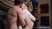 PORNFIDELITY Chanel Preston and James Deen Hardcore Living Room Fuck