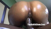 phat ass redboned lust red takes bbc king kreme...