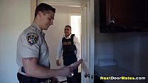 Drug dealer gets fucked bareback by corrupt gay latino cop